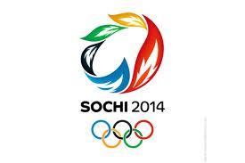 Das Logo der Olympischen Winterspiele 2014 in Sotschi