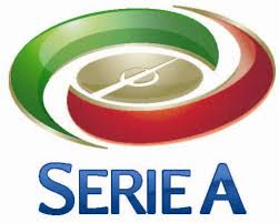 Das Logo der Serie A - der höchsten italienischen Fußballliga