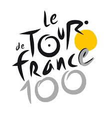 Das Logo der Tour de France