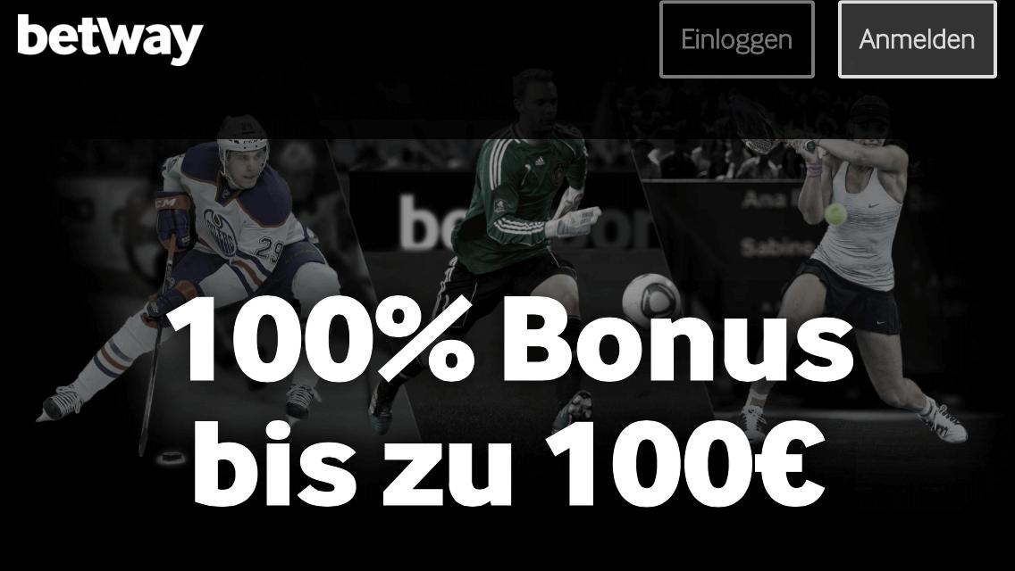 Betway Bonus 100 Euro