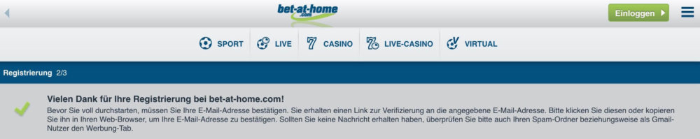 bet-at-home registrierung ende